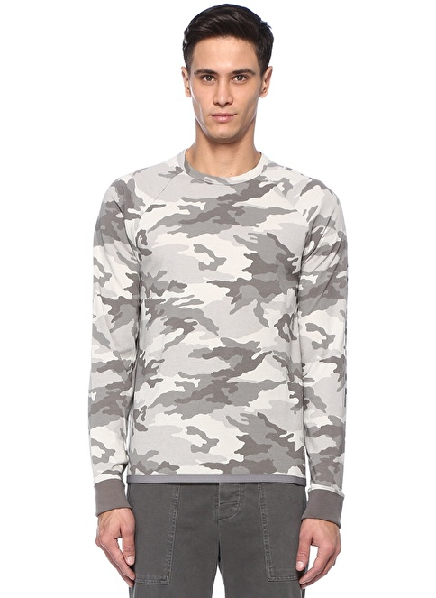 James Perse Sweatshirt Haki